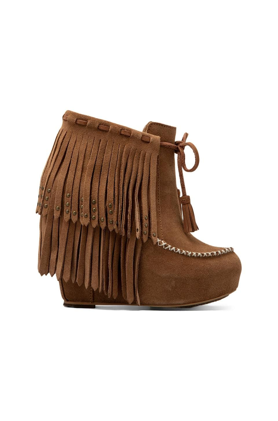 Koolaburra Tasso Bootie in Chestnut