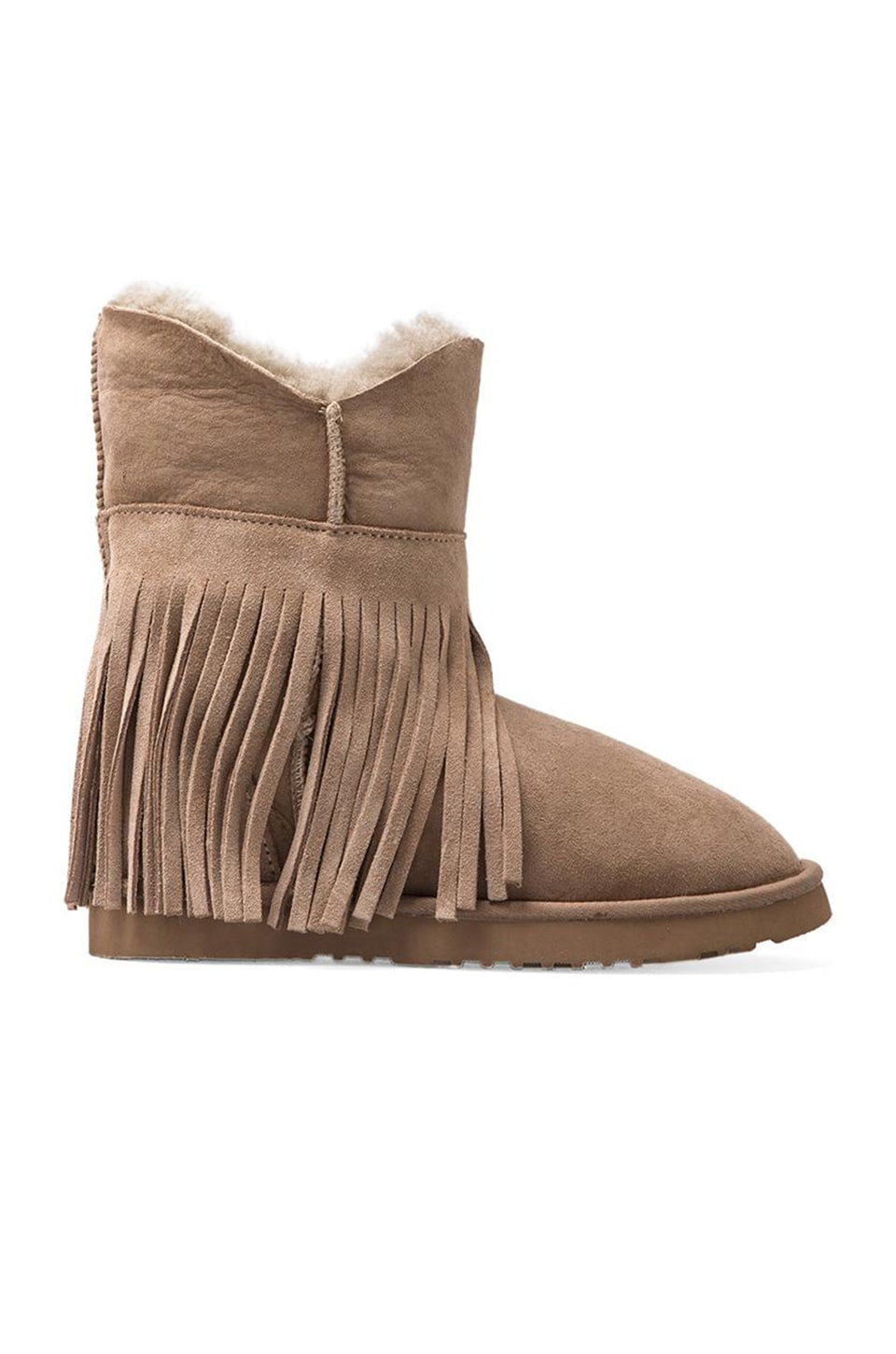 Koolaburra Haley Ankle II with Twinface Sheepskin in Seta