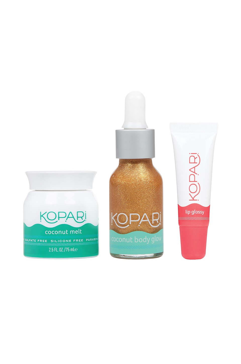 Kopari LOT DE SOINS DE LA PEAU SLIP INTO SUMMER KIT