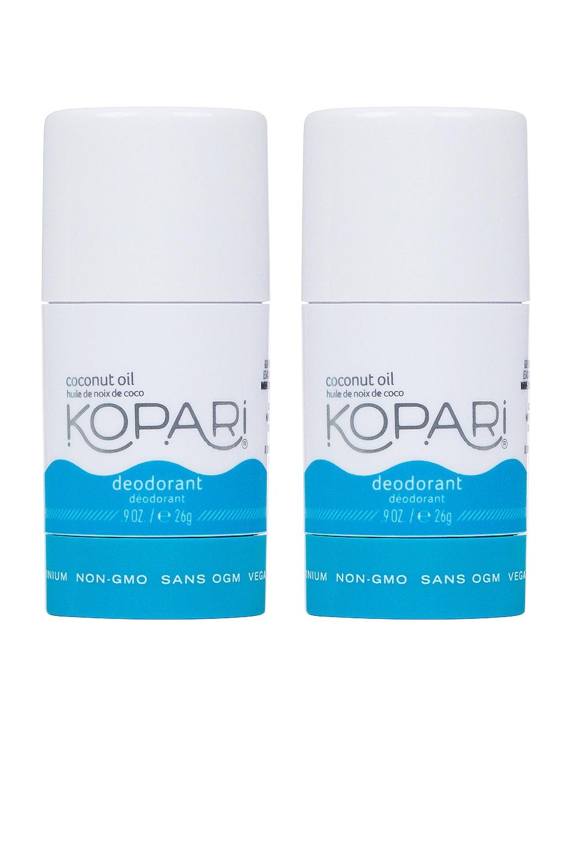 Kopari Coconut Deodorant Mini Duo in Original