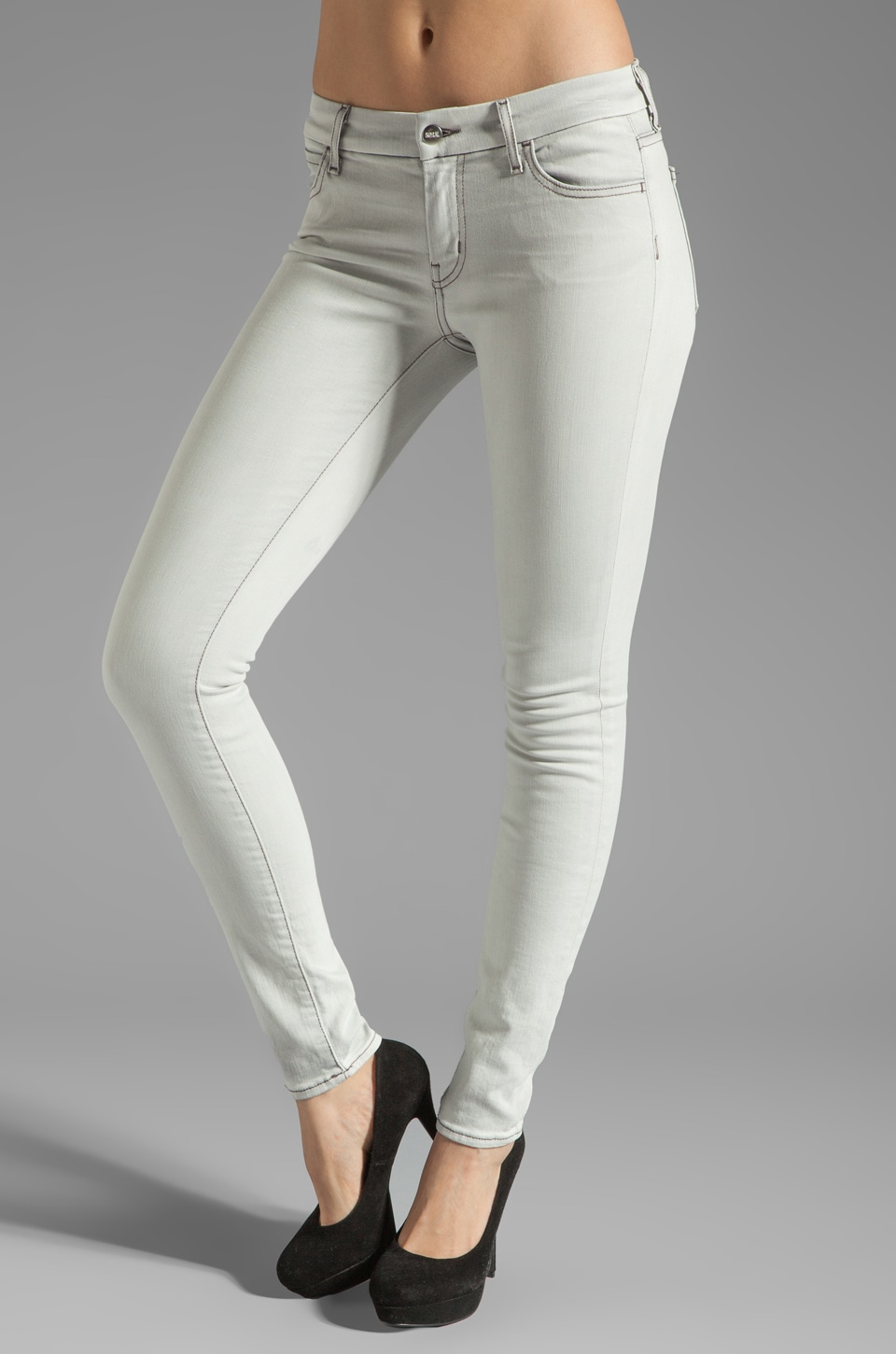 Koral Denim White Wash Skinny in Light
