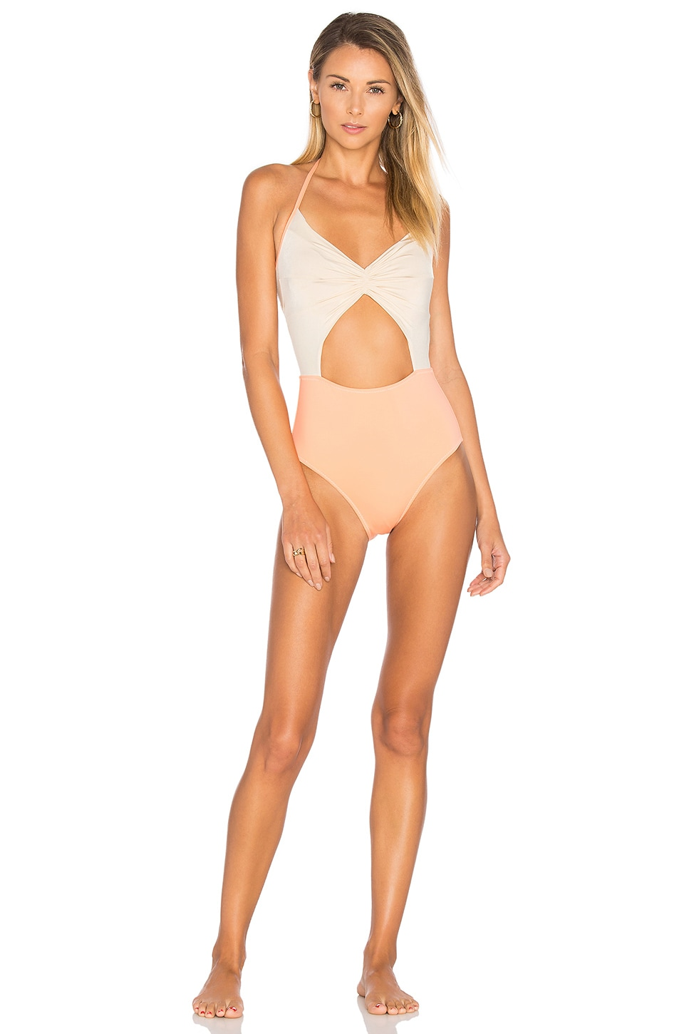 KORE SWIM Flora One Piece in Coral