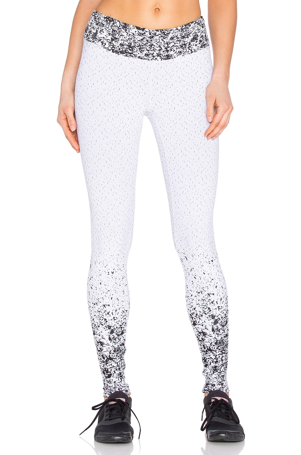 Pixelate Cropped Legging by KORAL