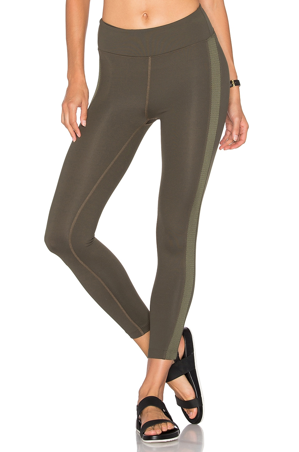 Dynamic Duo Hi Rise Legging by KORAL