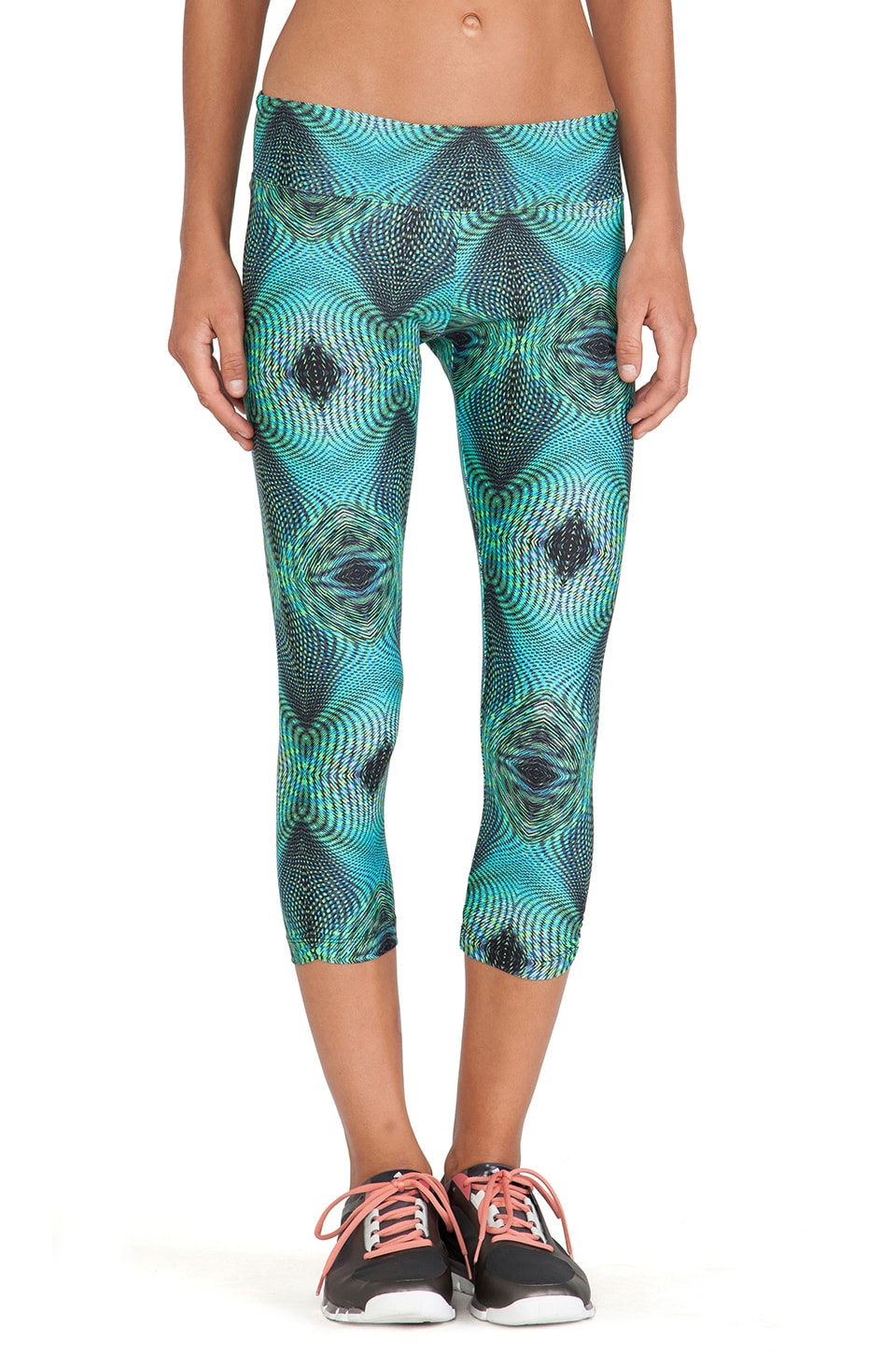 KORAL Synergy Capri Legging in Oasis