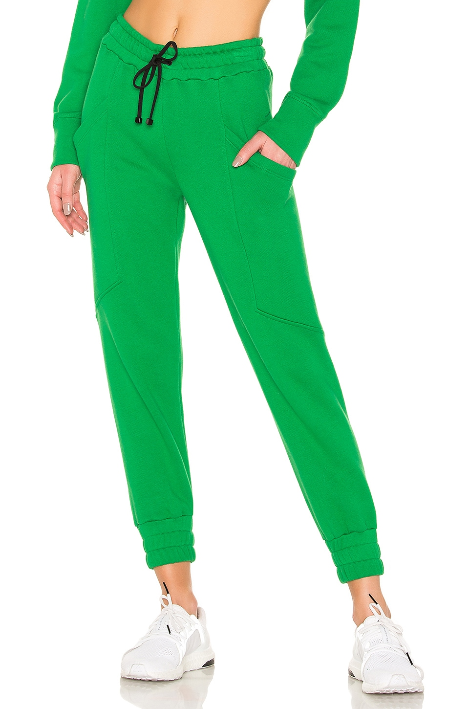 KORAL Bara Matte Sweatpants in Verde