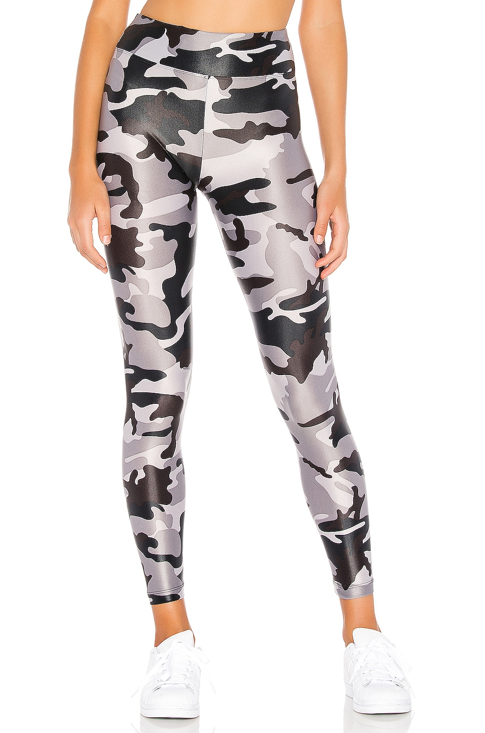 KORAL Lustrous High Rise Legging in Lead Camo