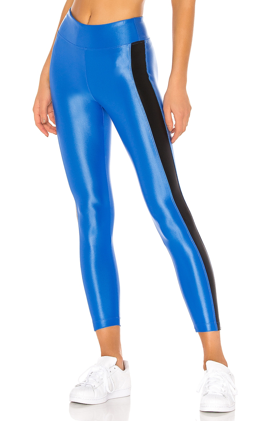 KORAL Dynamic Duo High Rise Infinity Legging in Aura & Black