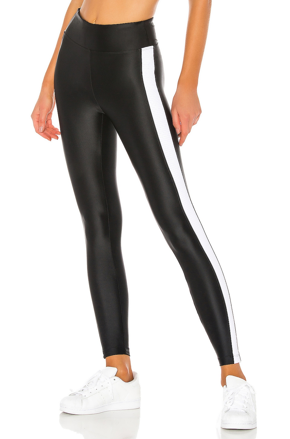 KORAL Dynamic Duo High Rise Energy Legging in Black & White