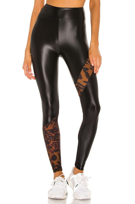 KORAL Trek High Rise Cheetara Legging in Brown Cheetara