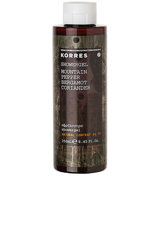 Korres Mountain Pepper Shower Gel in Mountain Pepper