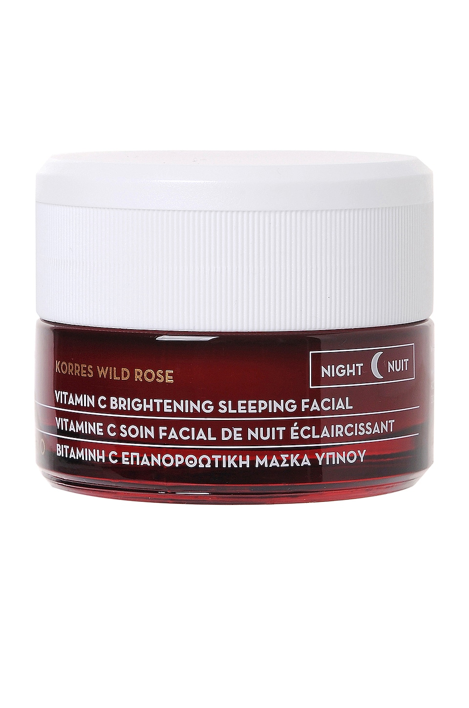 Korres Wild Rose Vitamin C Brightening Sleeping Facial