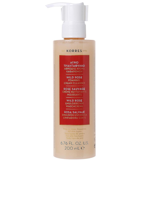 Korres Wild Rose Foaming Cream Cleanser