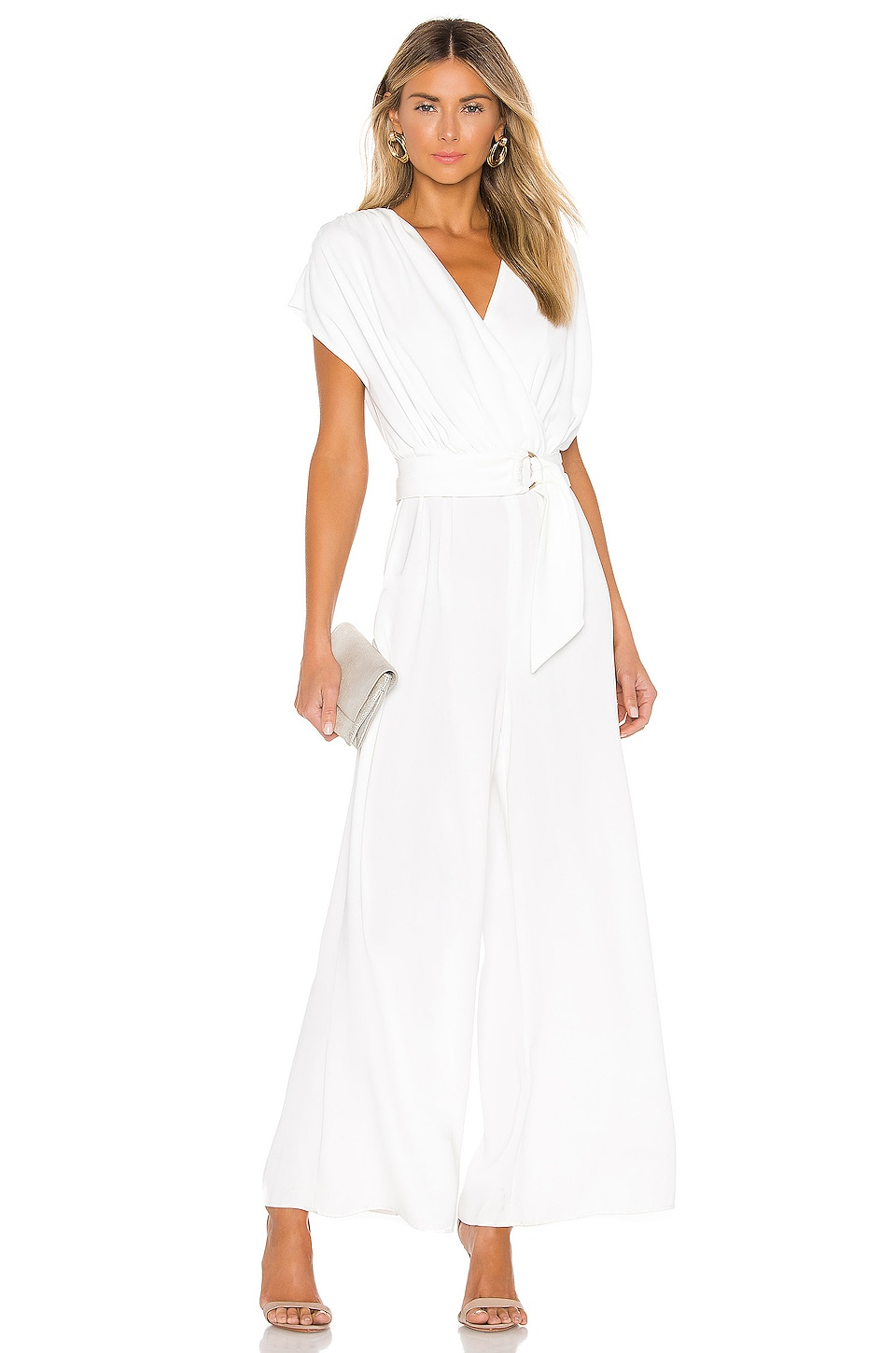 keepsake Motor Jumpsuit in Ivory