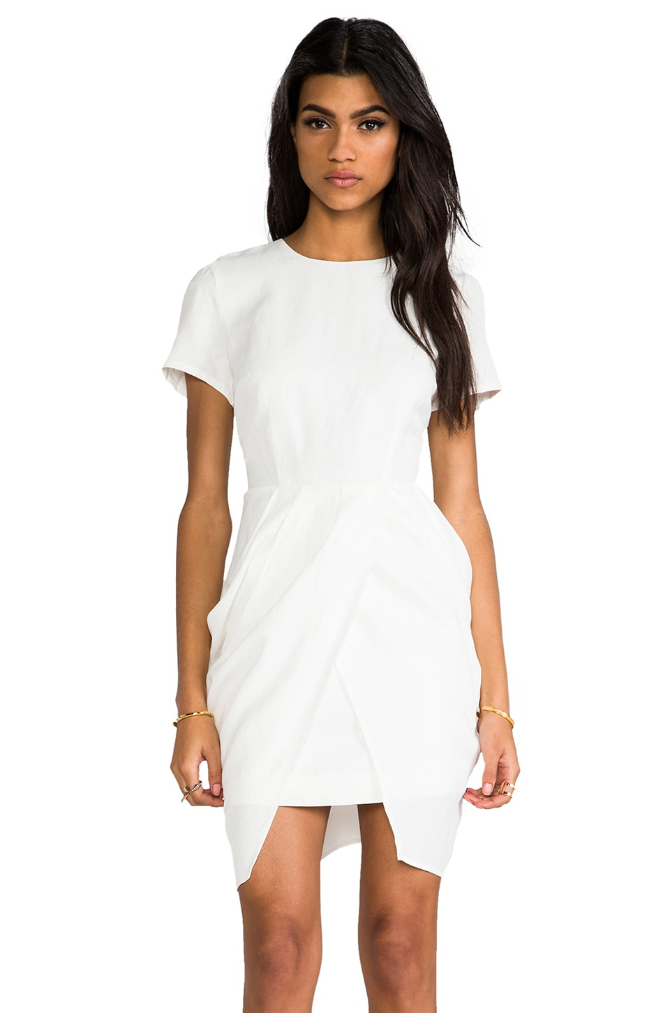 keepsake Wild Thing Dress in Ivory