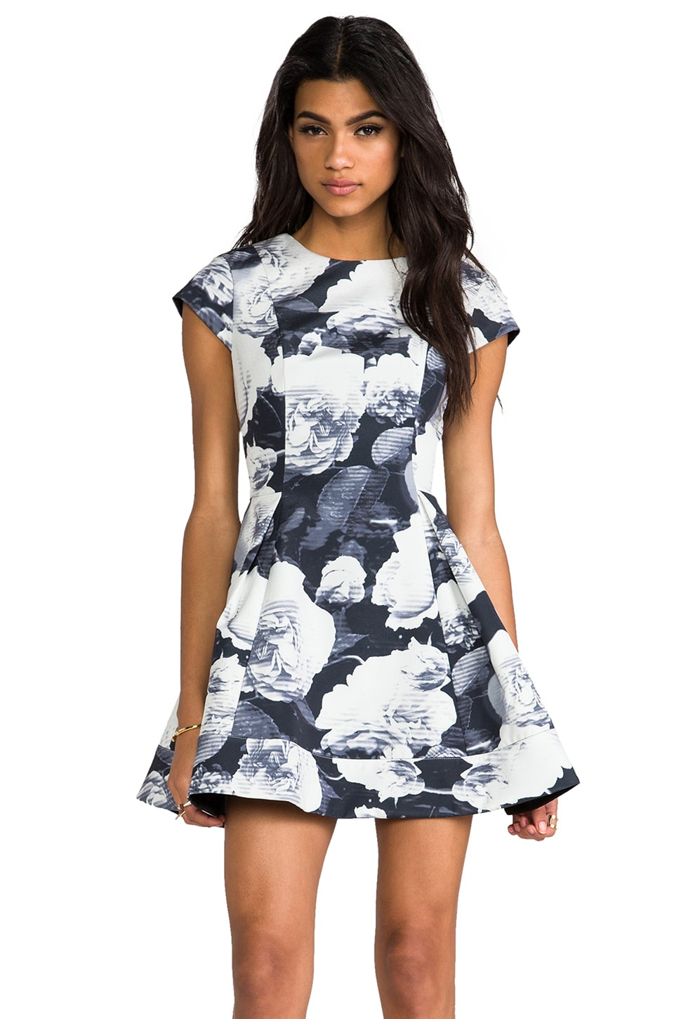 keepsake Adventure Dress in Peony Print
