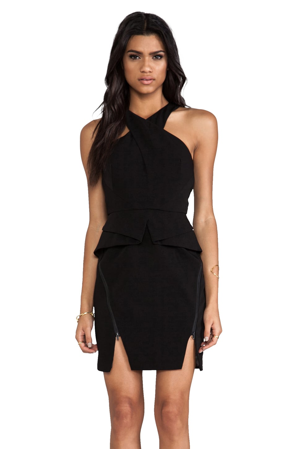 keepsake Motionless Dress in Black