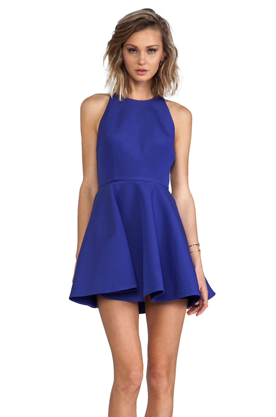 keepsake The Echo Dress in Ultramarine
