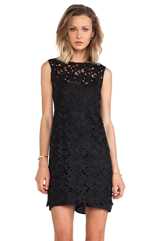 keepsake Reach For The Sun Dress in Black Lace