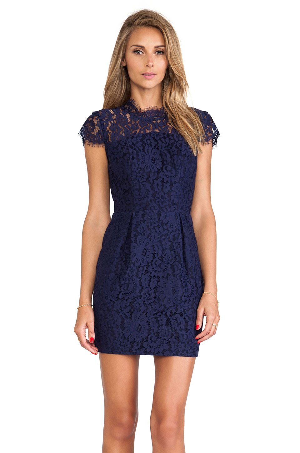 keepsake Run the World Dress in Eclipse Lace