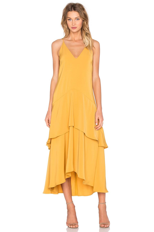 keepsake Mercy Maxi Dress in Mustard