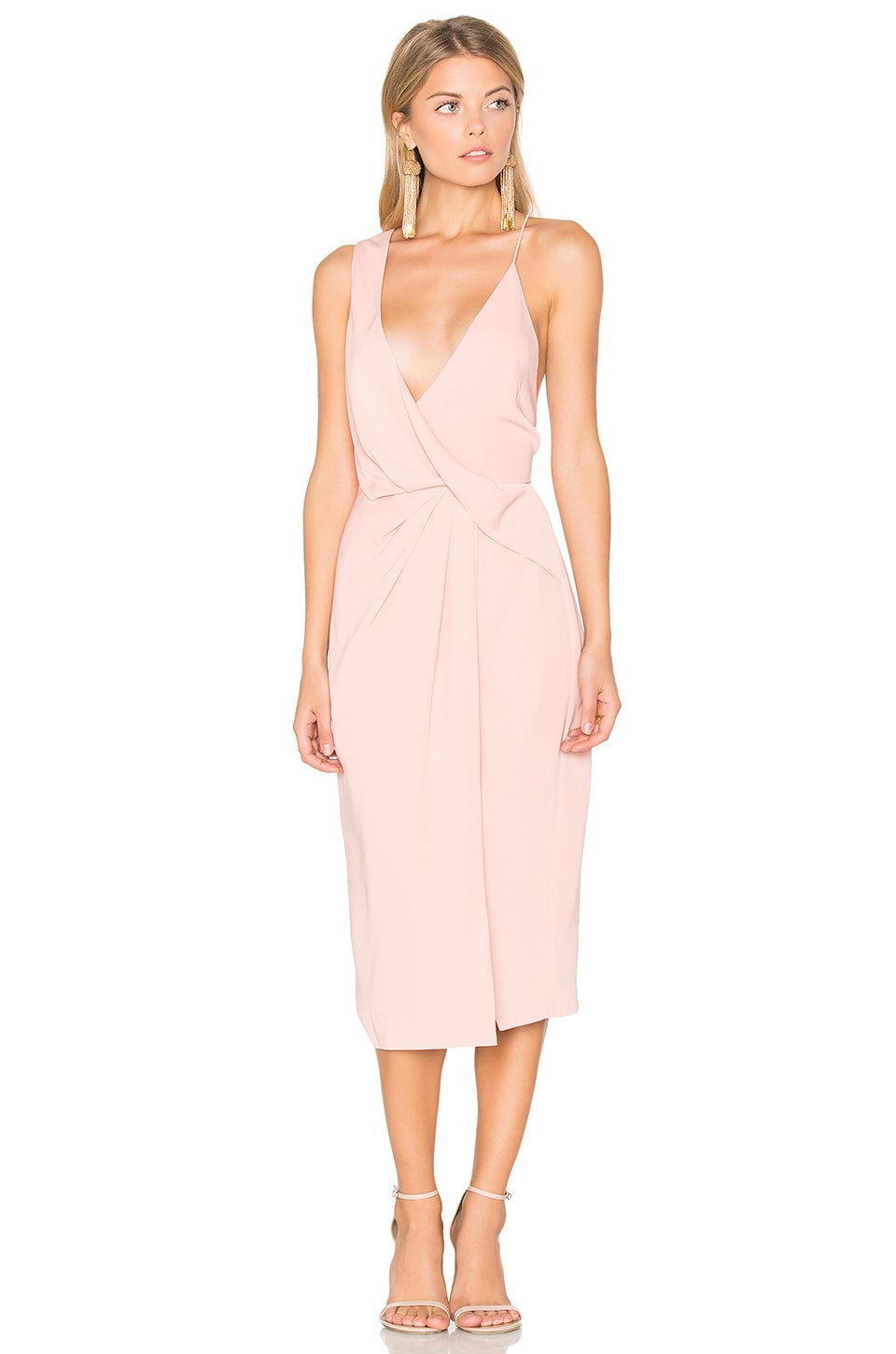 keepsake Without You Dress in Dusty Rose
