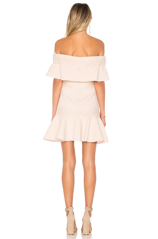 KEEPSAKE Sweet Dreams Dress In Blush. in Shell