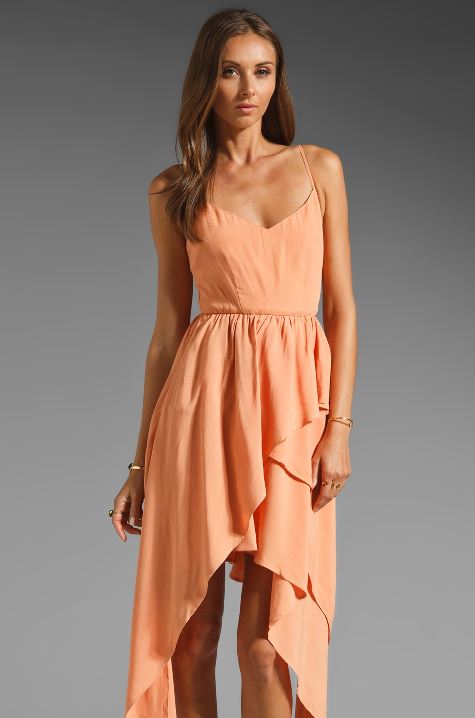 keepsake Mine is Yours Dress in Apricot
