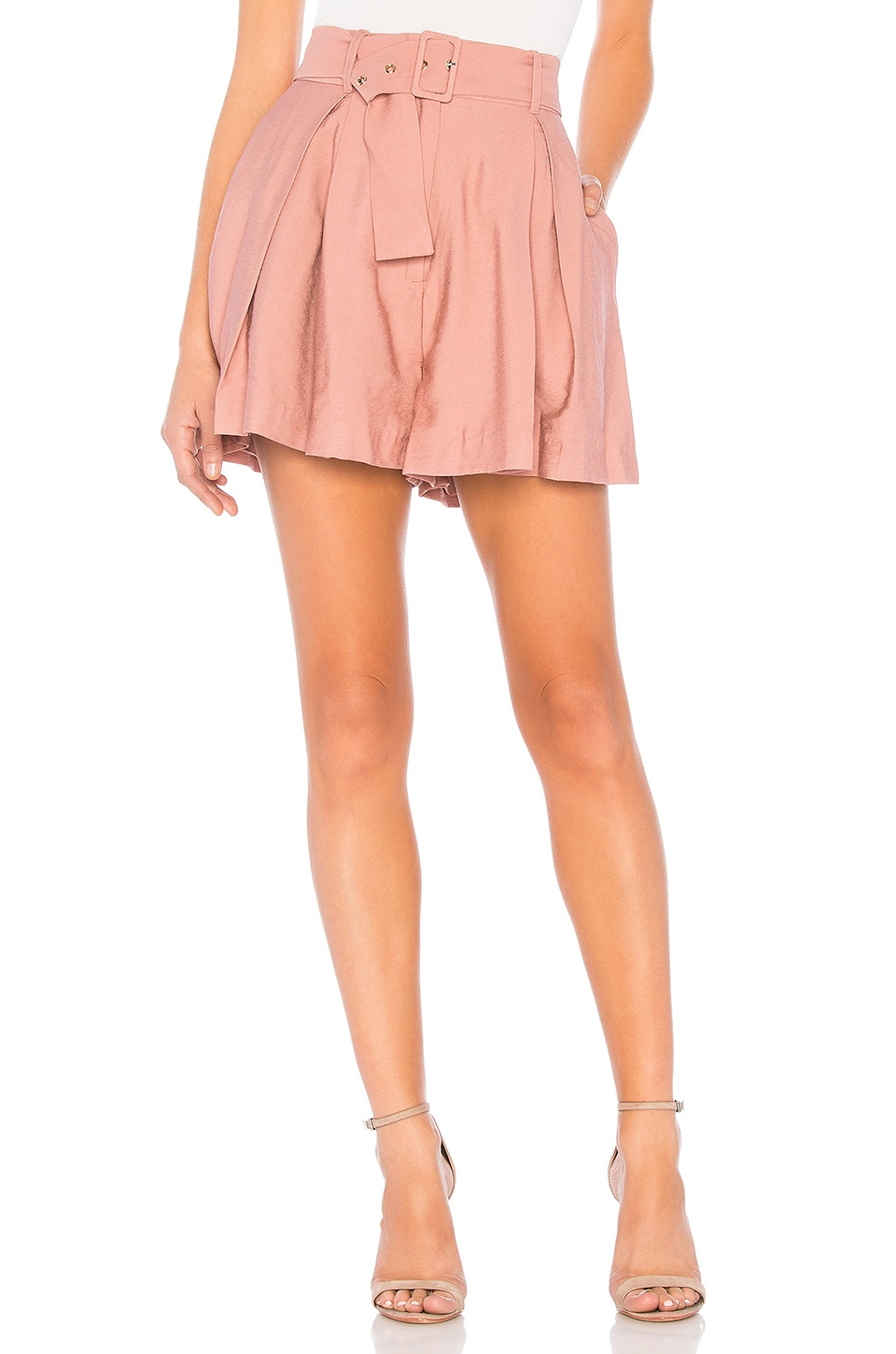 keepsake High Tide Short en Blush