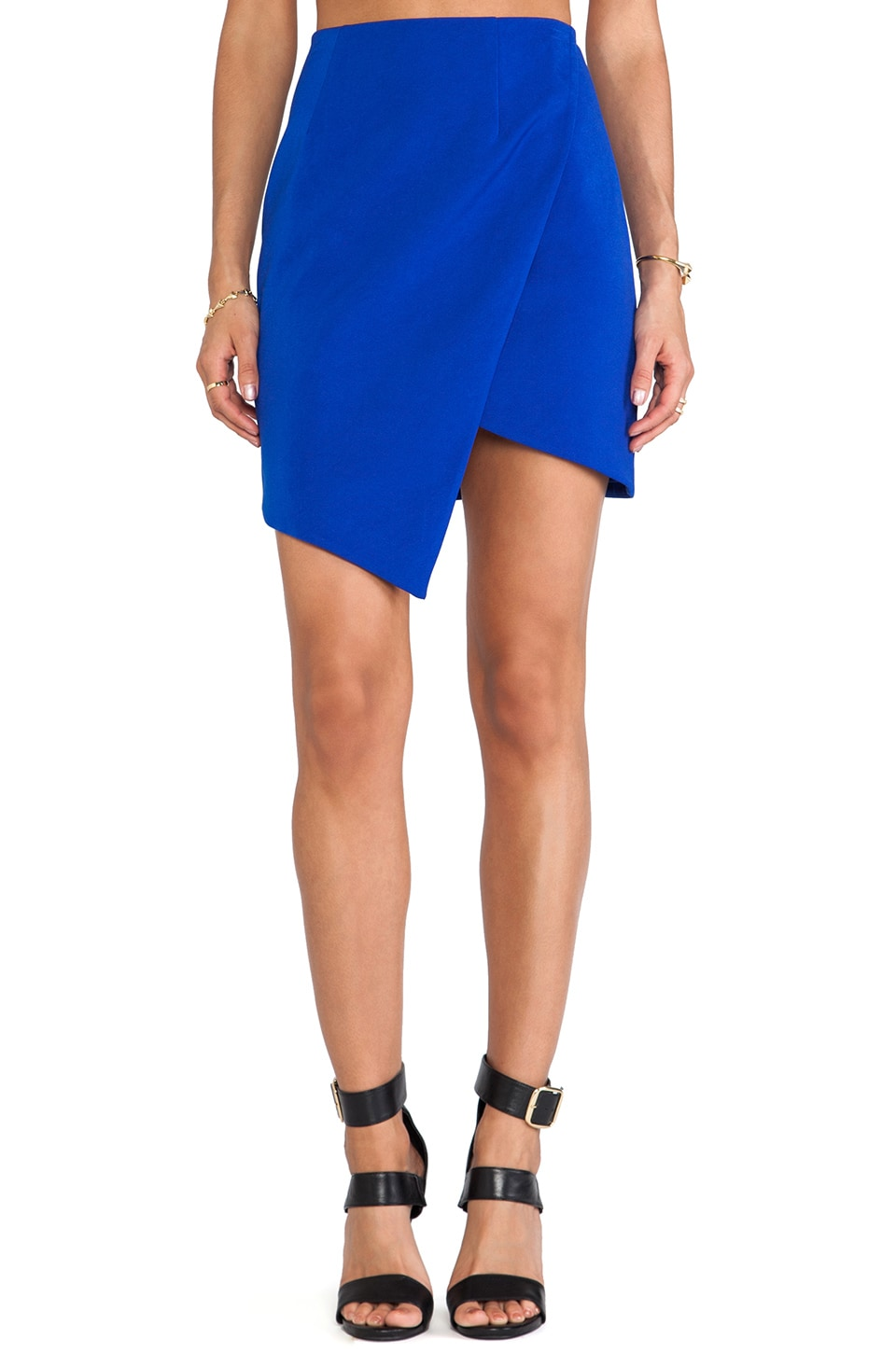 keepsake Up All Night Skirt in Cobalt