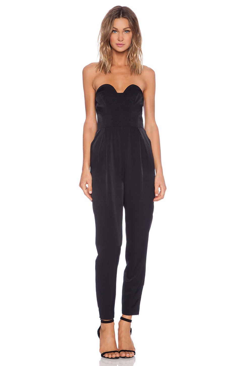 keepsake Hearts On Fire Pant Suit in Black
