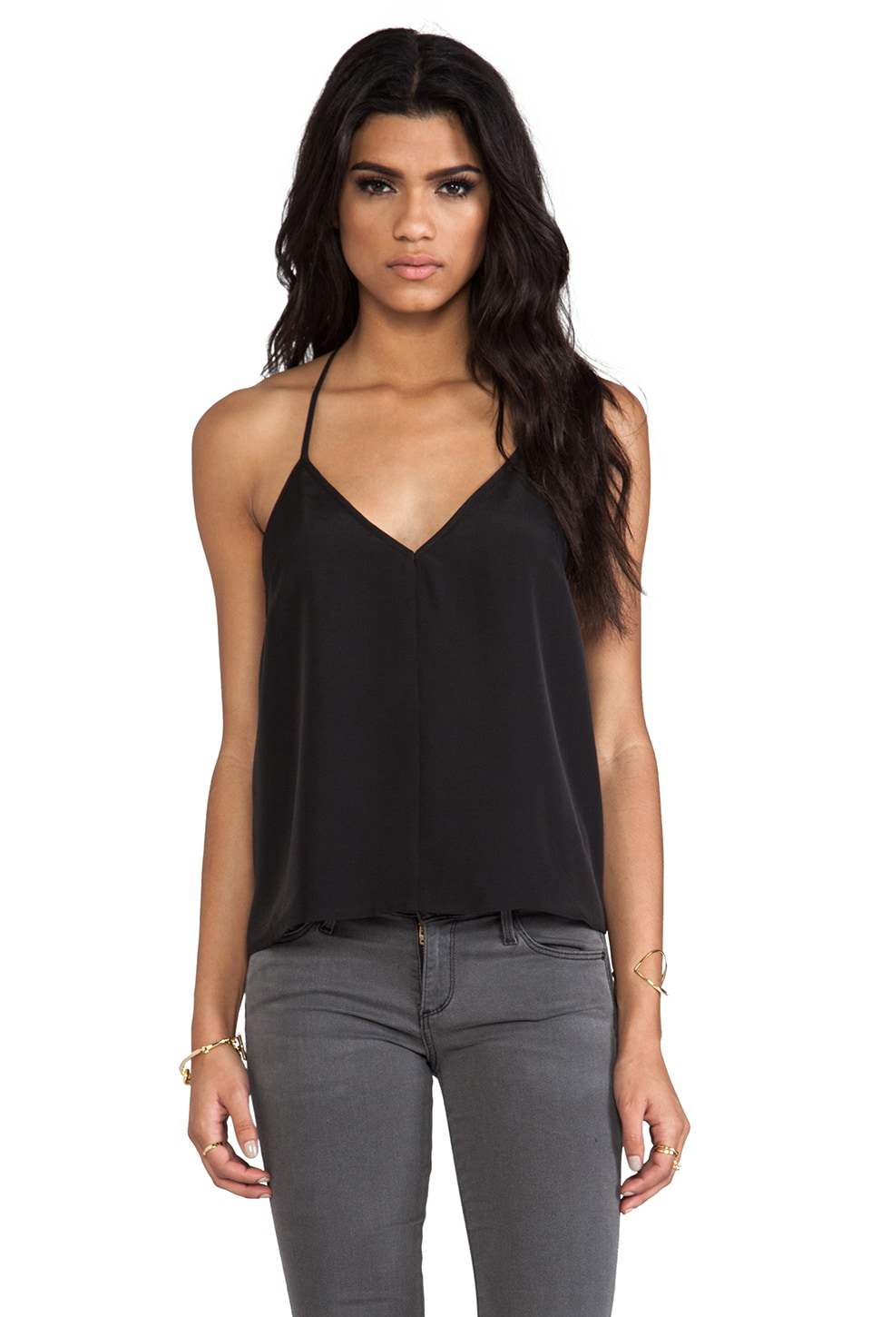 keepsake Botanic Tank in Black
