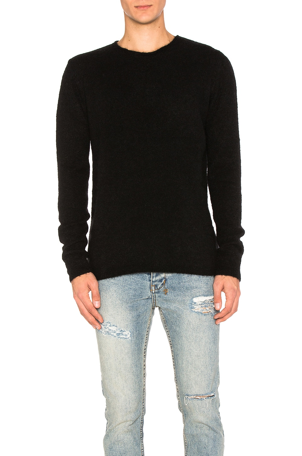 Interpol Crew Knit Sweater by Ksubi