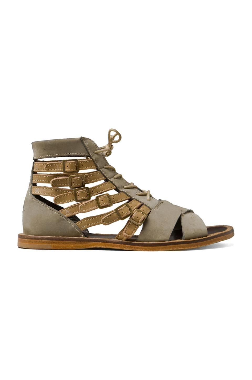 Ksubi Athena 2 Sandal in Khaki/Tan
