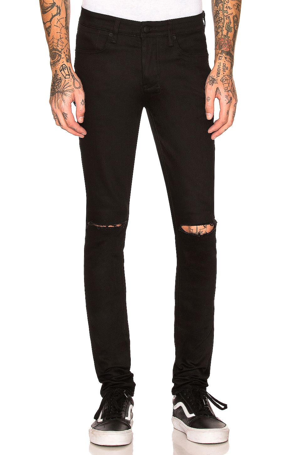 Ksubi Van Winkle Ace in Black Slash