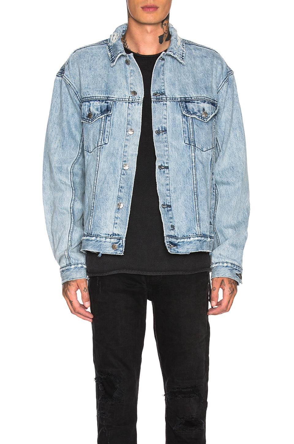 Ksubi Oh G Acid Trip Jacket in Denim