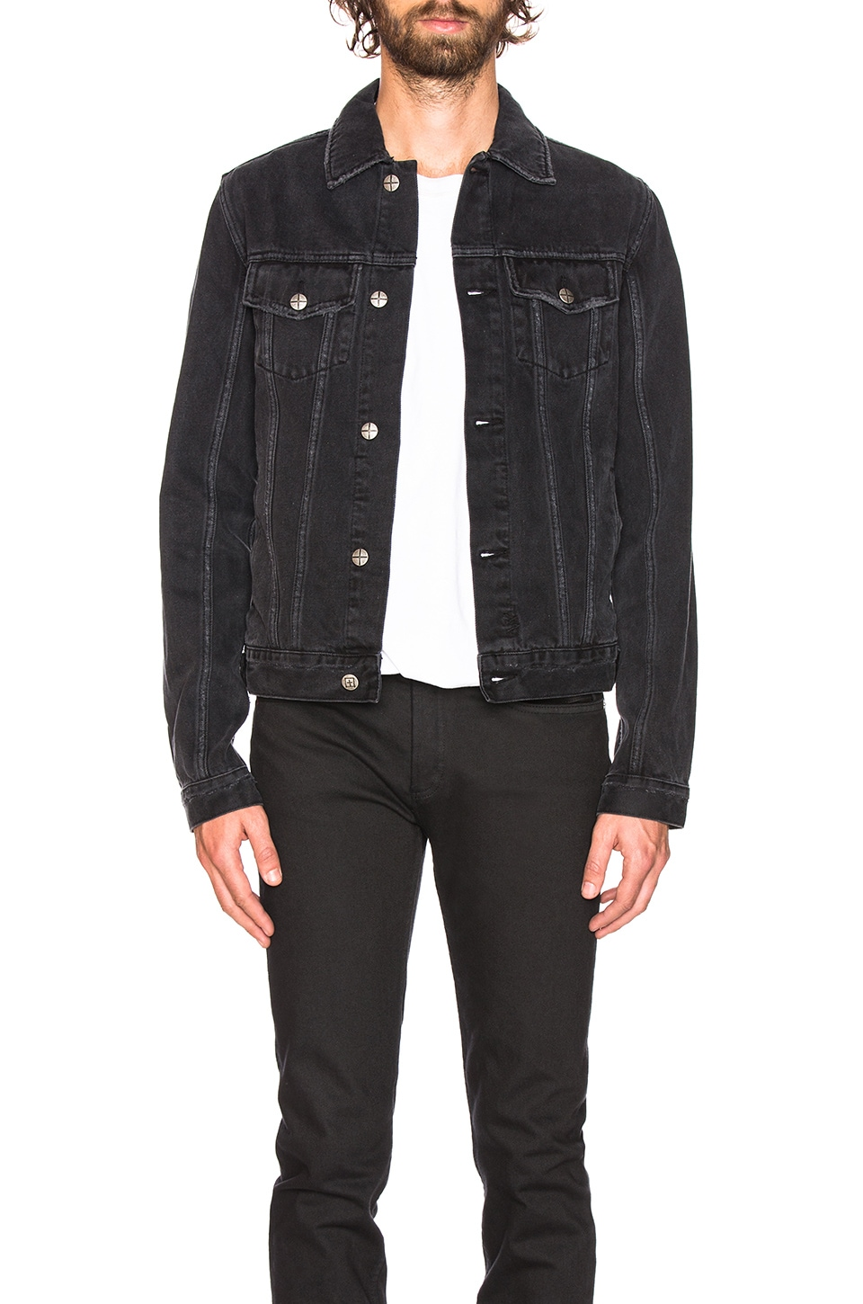 Ksubi Classic Jacket in Sketchy Black