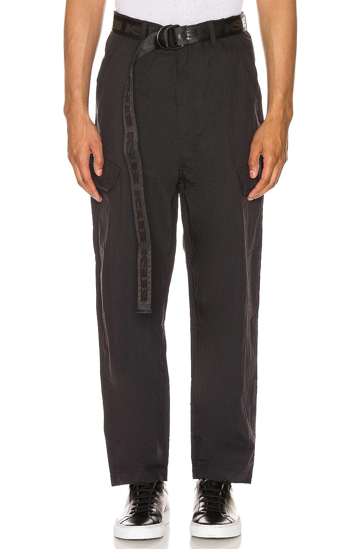 Ksubi Downtown Cargo Pant in Black