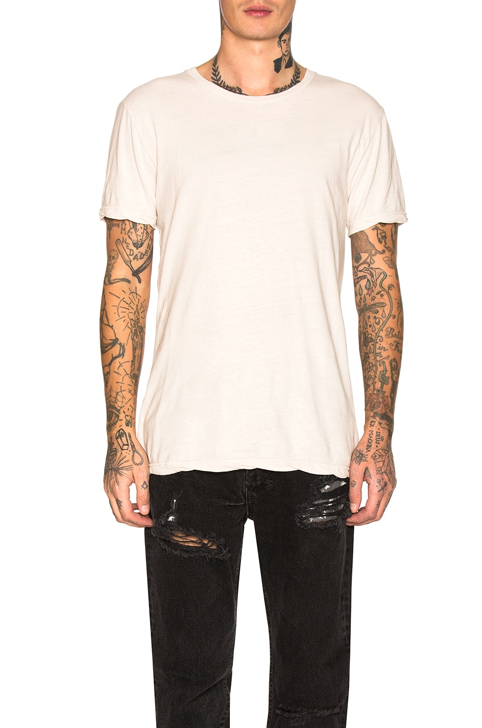 Ksubi Sioux Tee in Putty