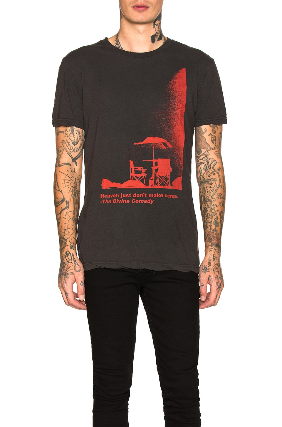 Ksubi Divine Comedy Graphic Tee in Black