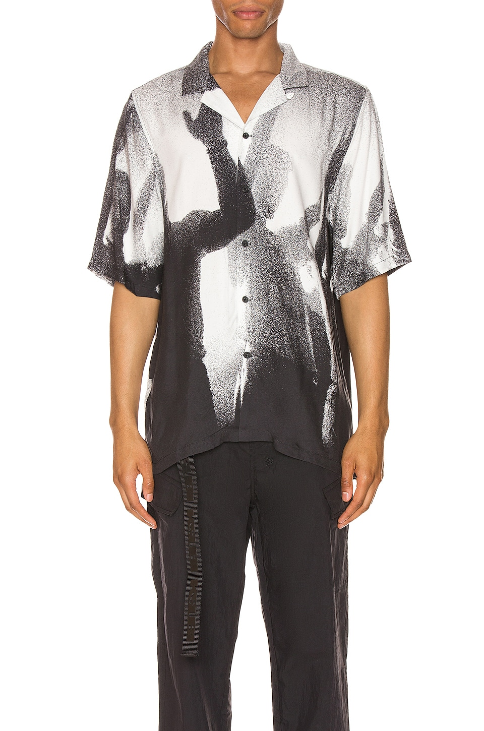 Ksubi Dancers Resort Shirt in Black