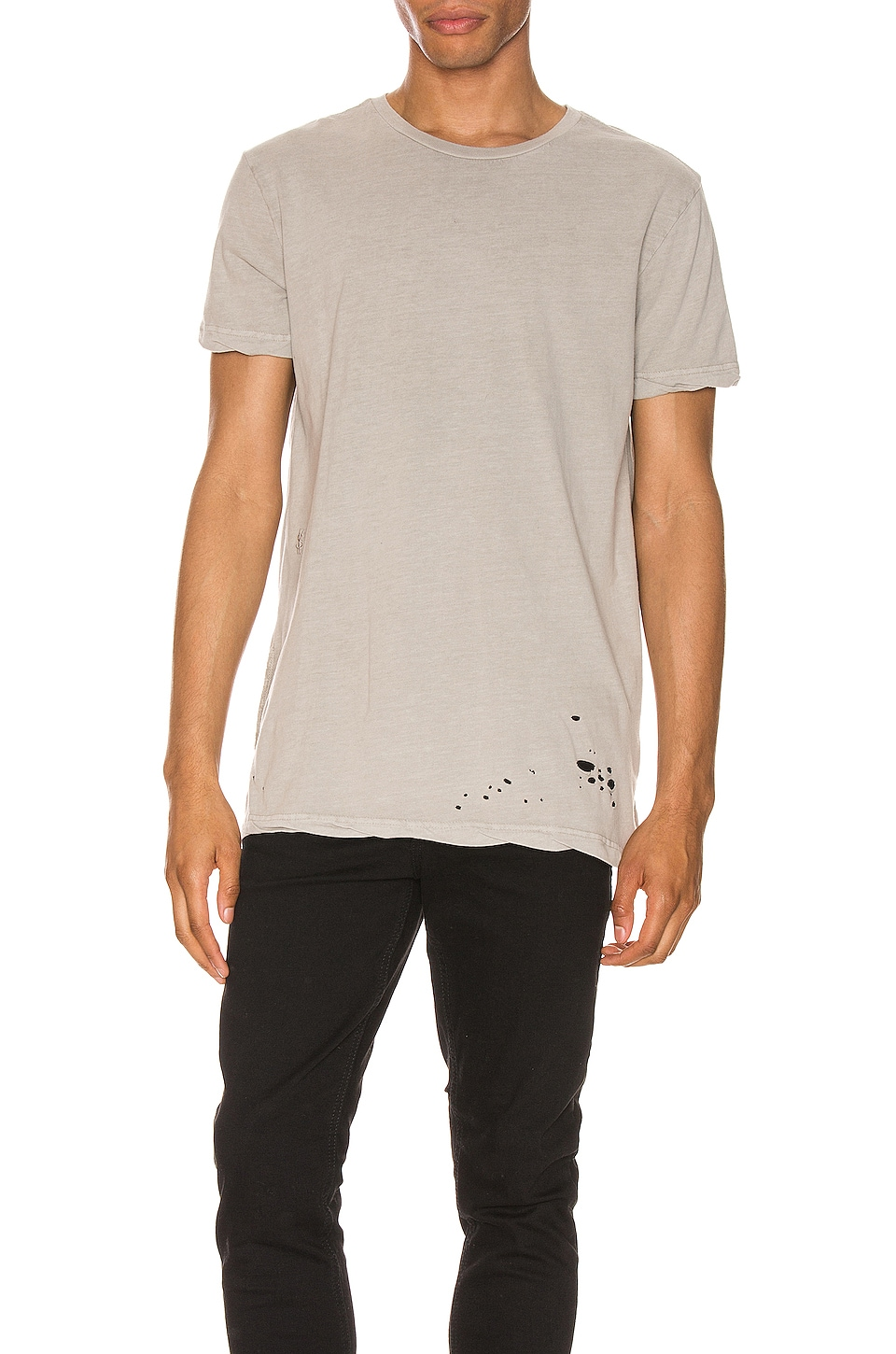 Ksubi Sioux Cement Tee in Stone