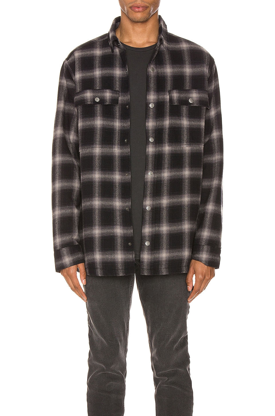 Ksubi Strata Quilted Check Shirt in Multi