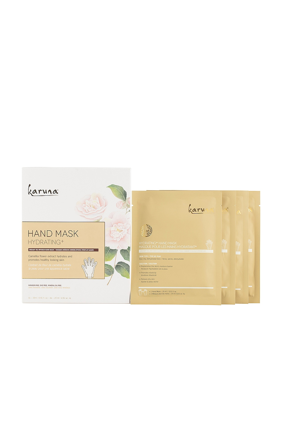 Karuna Hydrating+ Hand Mask 4 Pack
