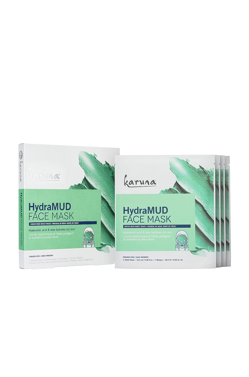 Karuna HydraMUD Face Mask 4 Pack