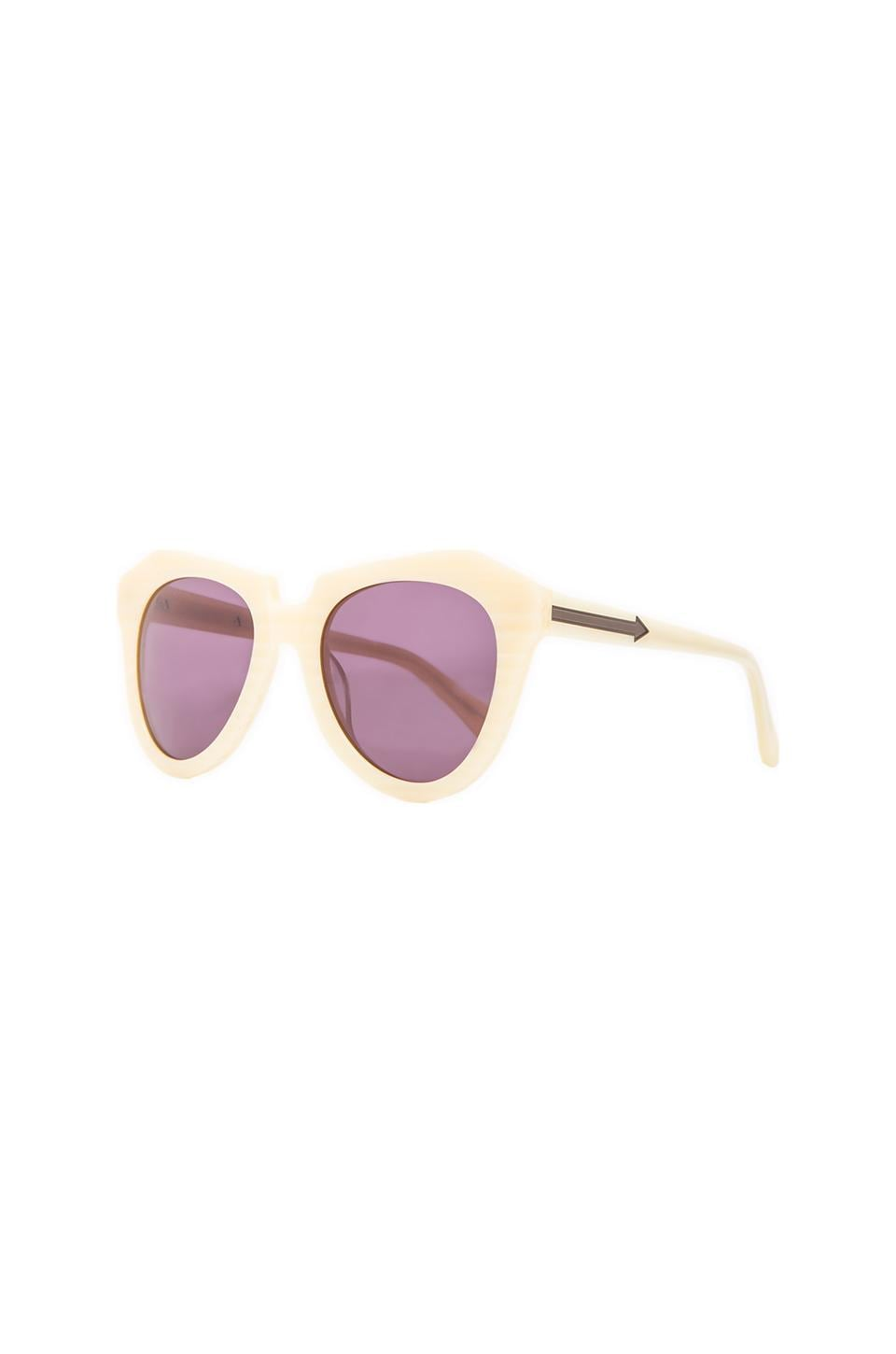 Karen Walker Number One in Vanilla Wood