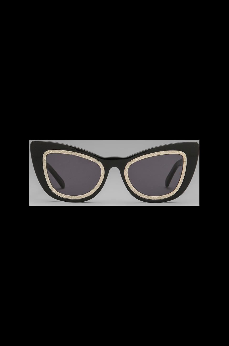Karen Walker Eclipse in Black Gold