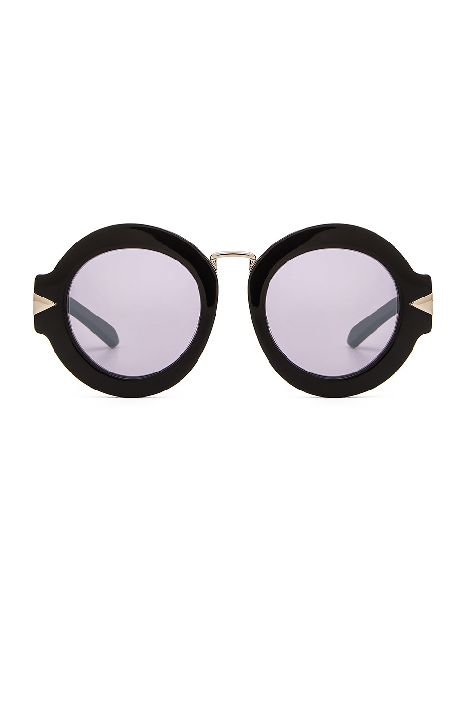 Karen Walker Superstars Maze in Black & Silver Mirror