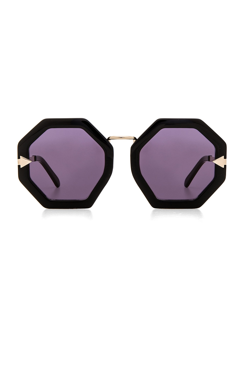 Karen Walker Moon Disco in Black & Gold