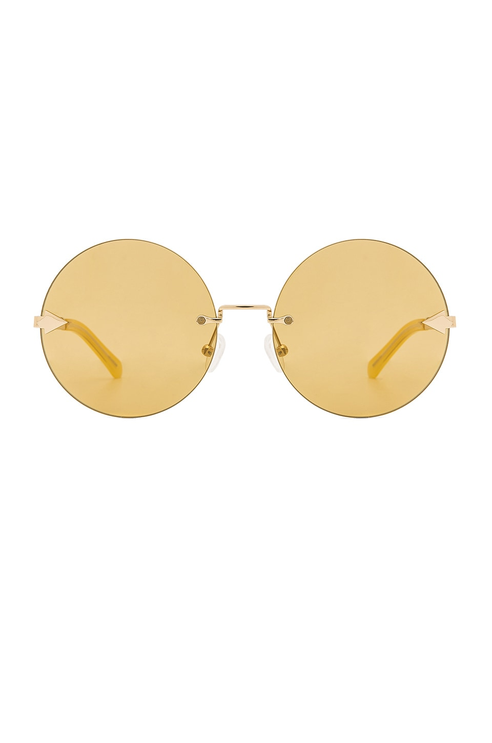 Karen Walker Disco Circus in Marigold & Gold